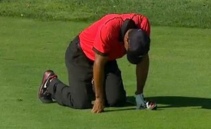 Tiger Woods is learning the hard way how his golf swing is hurting his back