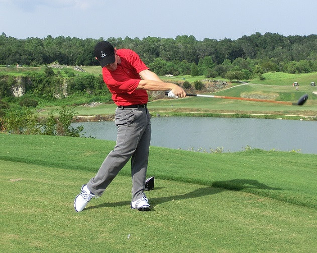 Hip Turn Drills for the Golf Swing by Using Gravity