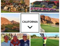 Gravity Golf California Collage
