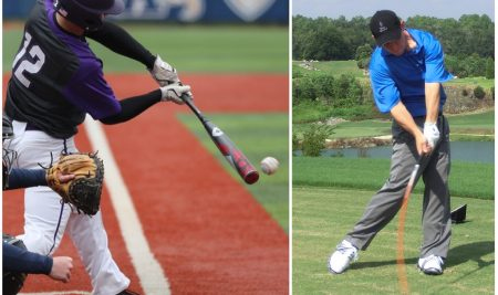 A Powerful Golf Swing That Benefits A Powerful Baseball Swing