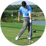 One Arm Golf With The Left Hand