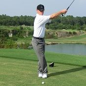 Front Route Cross Footed Golf Drills Teach A Golf Move That is Easy on the Body