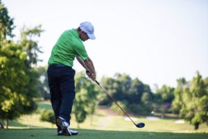 Become A Great Driver of The Golf Ball by Letting Gravity Into Your Golf Swing