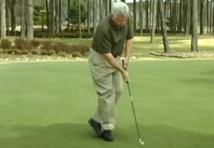 Creating Balance Is Key To Consistent Putting